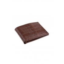 Croco Print Cow Leather Wallet
